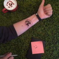 Une appli pour essayer vos futurs tatouages