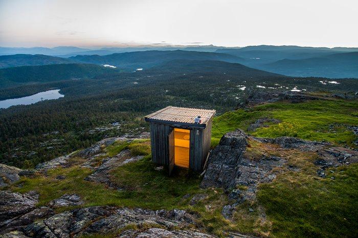 les toilettes de norvege