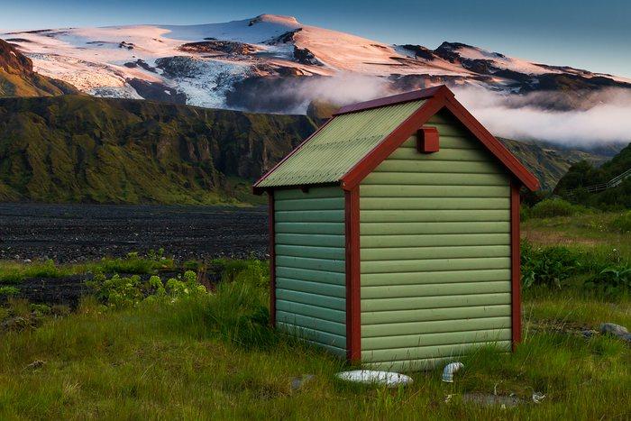 les toilettes d'islande
