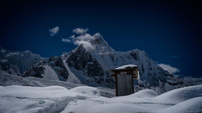 les toilettes du nepal