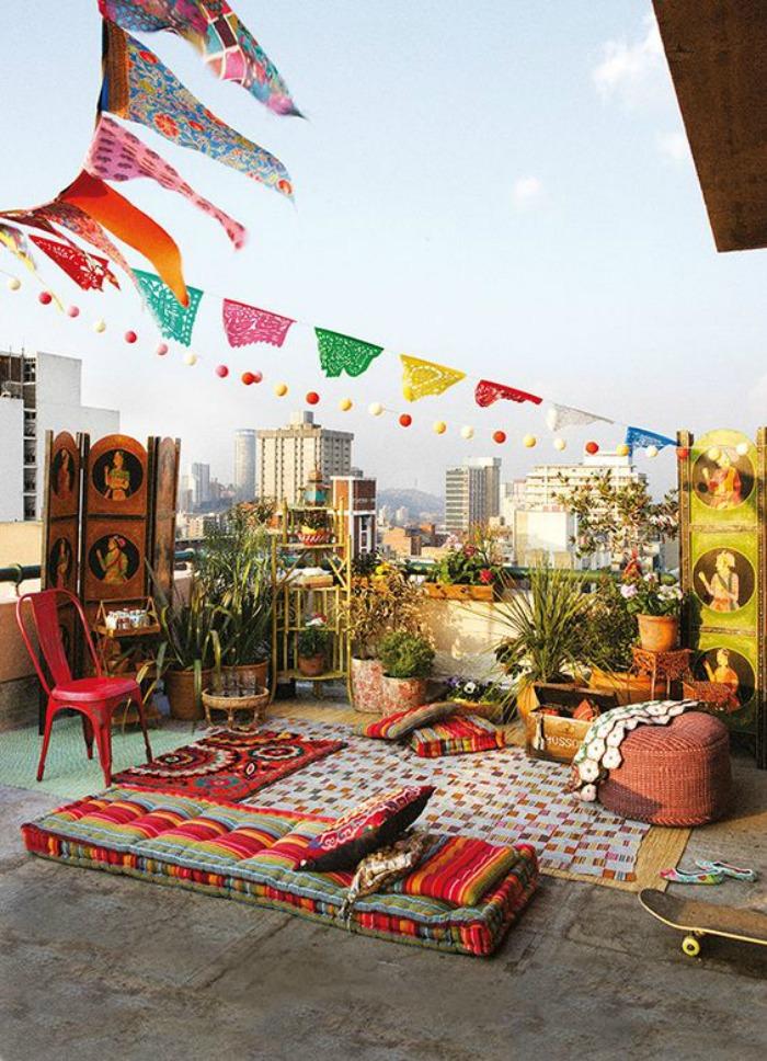 balcon ethnique