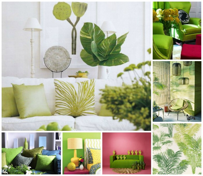 greenery vs couleurs claires
