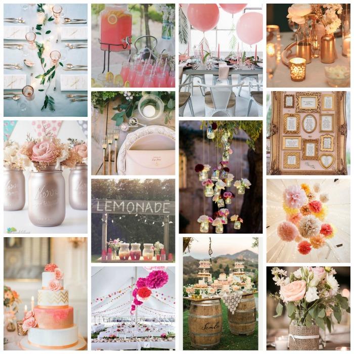 mariage 2017 rose