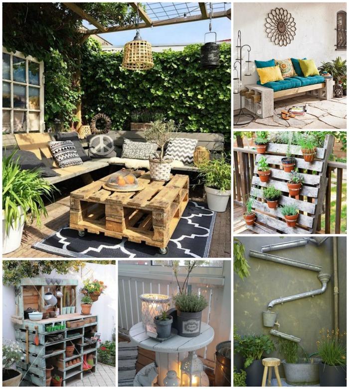 Décoration Terrasse En 20 Idées En Attendant Les Beaux Jours: Idées Pour Une Décoration D'extérieur Au Top