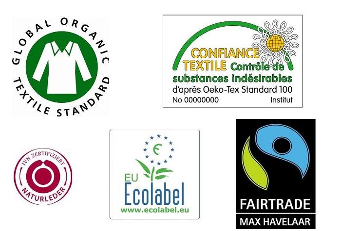 Labels éco-responsables, durable et éthiques pour le textile
