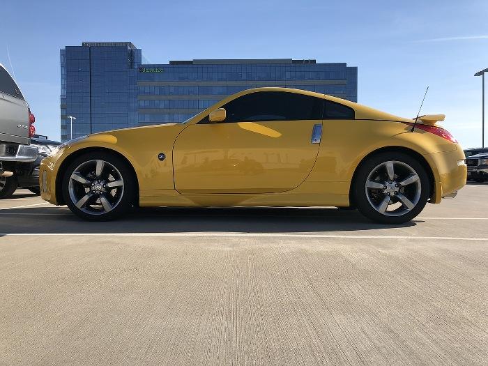 Nissan 370z jaune