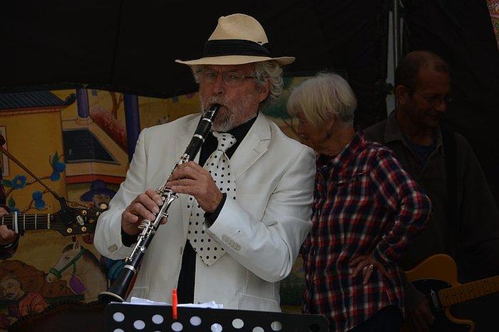 Joueur de clarinette